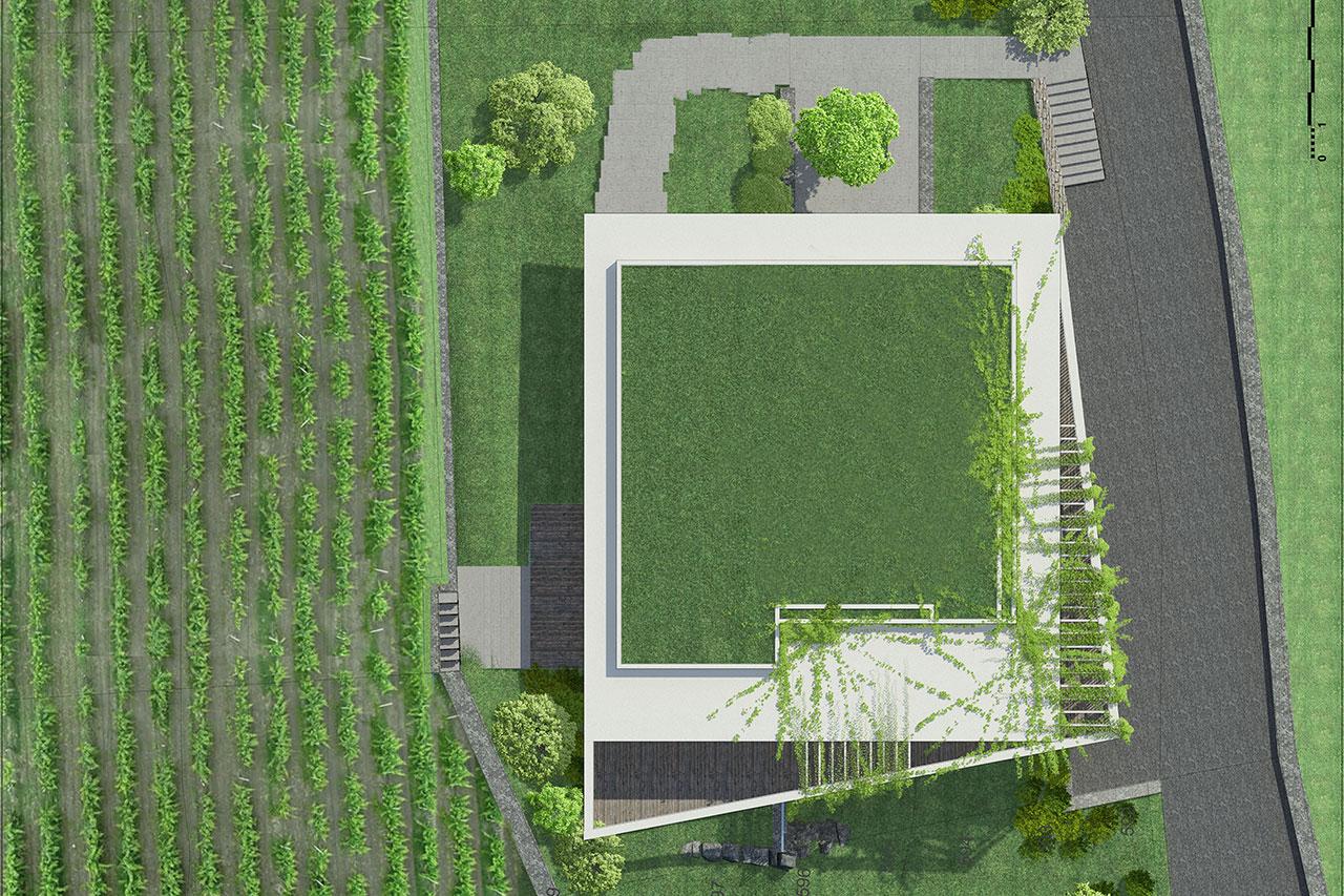 Promotion à Sierre | Terrasse - toiture